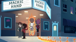 S2E19 Marco, Tom, and Mackie arrive to the movie theater