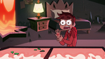S2E3 Marco Diaz with a bruised hand