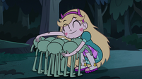 S3E5 Star Butterfly hugging the tadpoles warmly