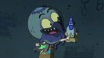 S2E35 Ludo poking Glossaryck with his wand