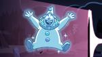 S2E27 Bon Bon the clown's ghost appears