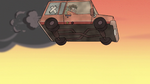 S2E5 Oskar's car falling out of the sky