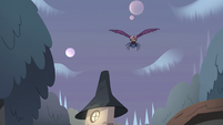 S2E8 Ludo, spider, and eagle fly through the sky