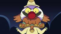 S2E27 Ludo reveals himself in clown costume