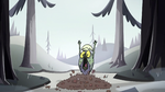 S2E2 Ludo falls into pile of leaves
