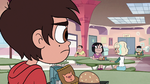 S2E26 Marco looks across the cafeteria at Jackie