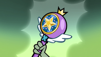 S1E3 Ludo holds Star's magic wand