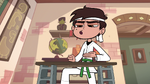 S1E5 Marco practicing karate