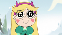 S2E10 Star Butterfly smiling at her father