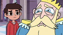S3E4 King River starting to cry next to Marco