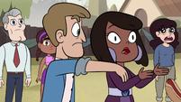S2E29 Blaine slaps hot dog out of Claudia's hand