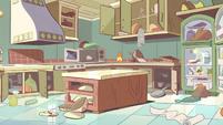 S2E4 Diaz Household messy kitchen