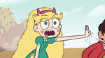 S2E6 Star shoving Marco to the ground