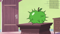S2E30 Apple turns into a green prickly fruit