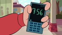 S1E17 Marco's phone clock
