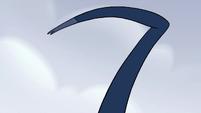S2E2 Giant spider's raised mandible