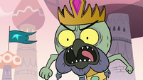 S3E6 King Ludo shrieking with frustration