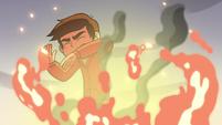 S2E15 Marco shields himself from lava bubble