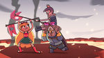 S2E15 Heartrude clashes flags with Star Butterfly