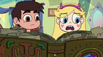 S2E25 Star Butterfly 'Glossaryck said not to turn the page'