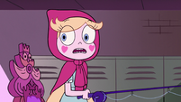 S2E23 Star Butterfly surprised to see duplicate of herself