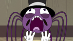 S2E22 Spider With a Top Hat shouting at top of his lungs