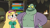 S3E5 Buff Frog agreeing to help Star Butterfly