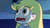 S2E17 Star Butterfly looks confused at Pony Head