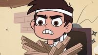 S2E37 Marco Diaz angry at his sensei