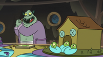 S3E5 Buff Frog 'who will get to daycare first?'