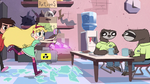 S2E18 Star and Marco barge into the employee lounge