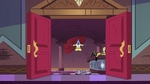 S2E25 Glossaryck enters the Magic High Commission room