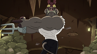 S2E20 Meat Fork flexing his muscles more