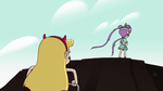 S2E9 Star Butterfly almost at the hill's summit
