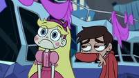 S1E10 Star disappointed and Marco sick