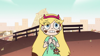 S2E9 Star Butterfly repeats 'please protect us'