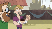 S2E29 Beef patty lands on party guest's plate