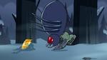 S2E2 Giant spider smacks into Ludo