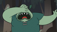 S2E12 Buff Frog smacking himself in the face