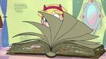 S2E23 Magic instruction book flipping open