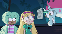 S2E41 Pony Head giving Star a math quiz to burn