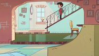 S2E6 Marco coming down the stairs