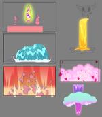 Mr. Candle Cares prop designs 2