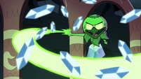 S2E41 Ludo-Toffee fending off Rhombulus' crystals