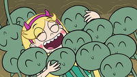 S3E5 Star Butterfly hugging the tadpoles