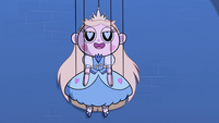 S2E40 Marionette of Star Butterfly lowers to the stage