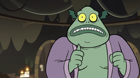 S3E5 Buff Frog pantomiming Star Butterfly's death