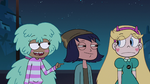 S2E41 Kelly commending Star Butterfly 'great work'