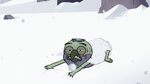 S2E2 Ludo frees himself from the snow