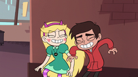 S2E14 Star and Marco laughing over their plan